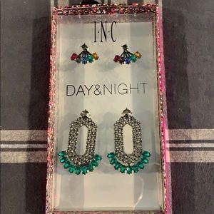 I.N.C DAY&Night Earring Set NWT